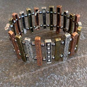 Inspirational bracelet to keep you motivated!